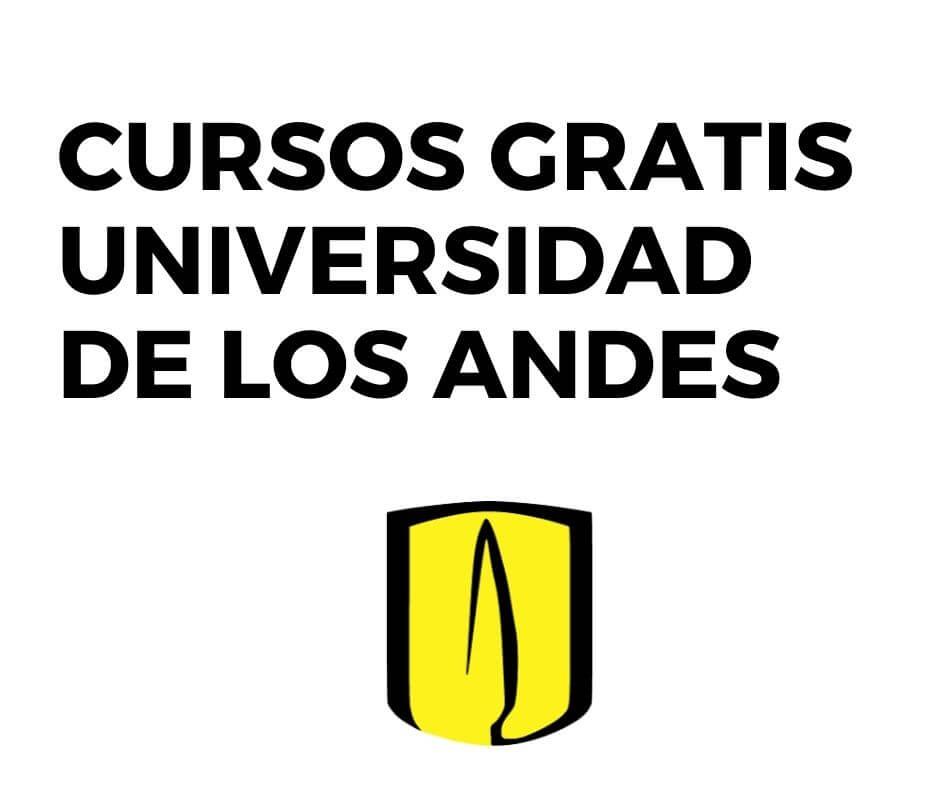 Cursos gratis Universidad de los Andes