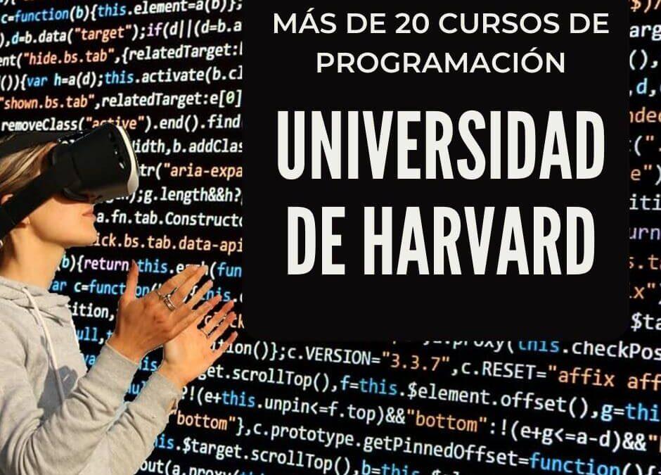 Cursos de programación Universidad de Harvard